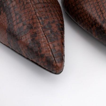 SAMAN. Botines de tacón alto grueso de mujer con cremallera. Suela de goma. Made in Spain. Otoño invierno 2020 2021