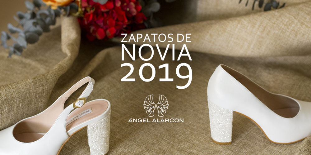 zapatos de novia 2019 Angel Alarcon