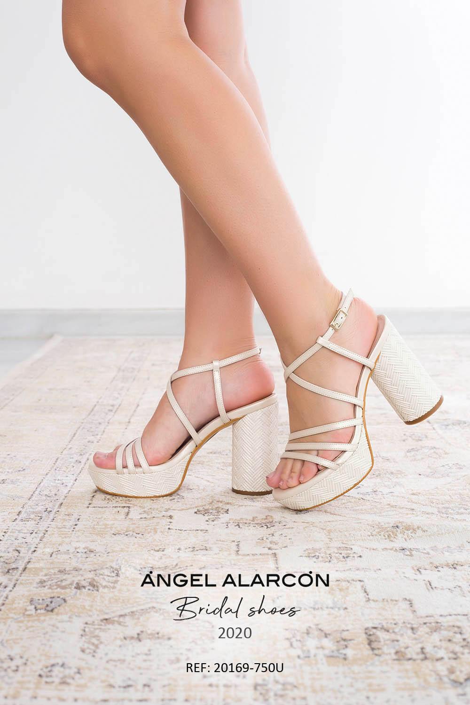 zapatos de novia 2020 20169-750U ivory
