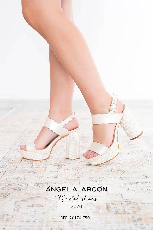 zapatos de novia 2020 20170-750U IVORY B
