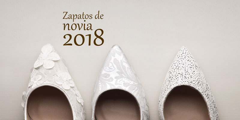 zapatos de novia 2018 de la colección de la marca Angel Alarcon. Zapatos made in Spain, fabricados en España