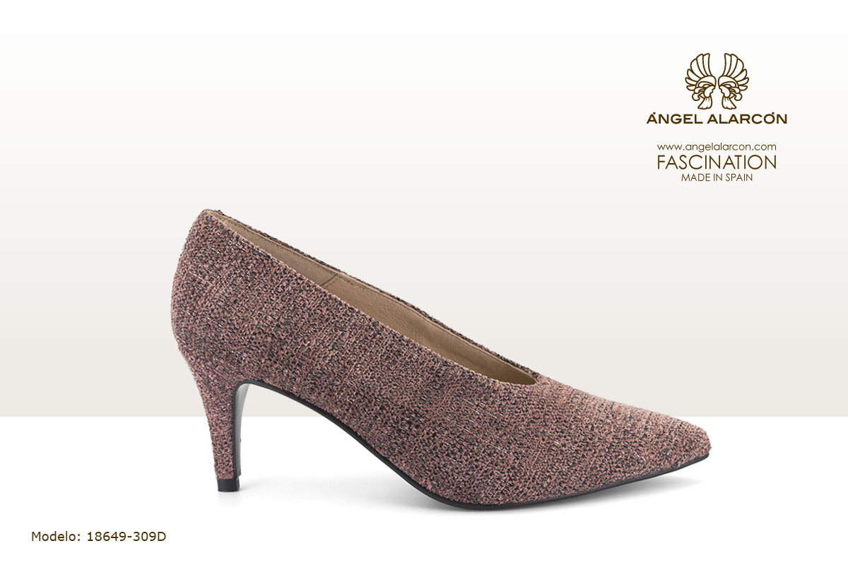 18649-309D zapatos invierno winter autumn shoes Angel Alarcon - salon rosa zapato cerrado