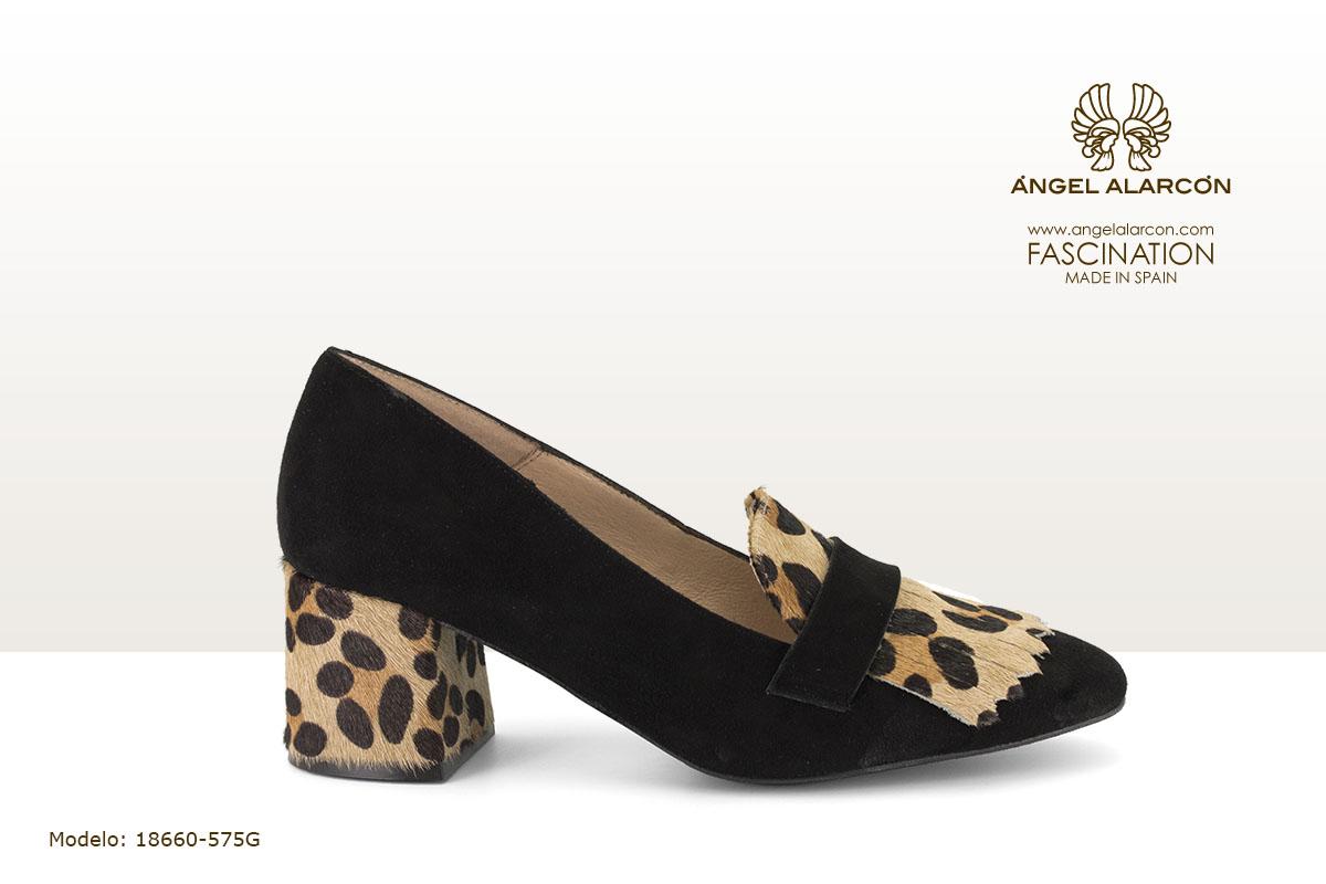 18660-575G zapatos invierno winter autumn shoes Angel Alarcon - zapato cerrado tacon ancho bajo
