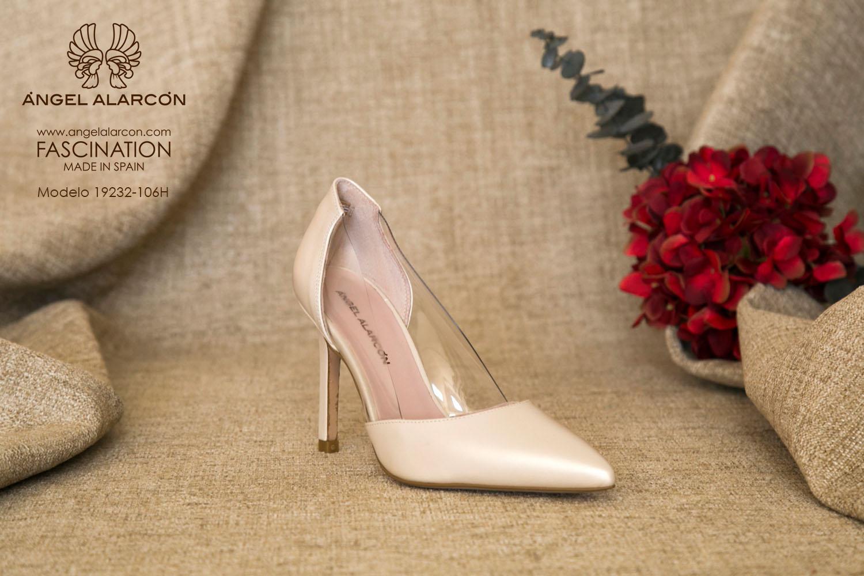 zapatos de novia 2019 de la marca Angel Alarcon 19232-106H VINILO A
