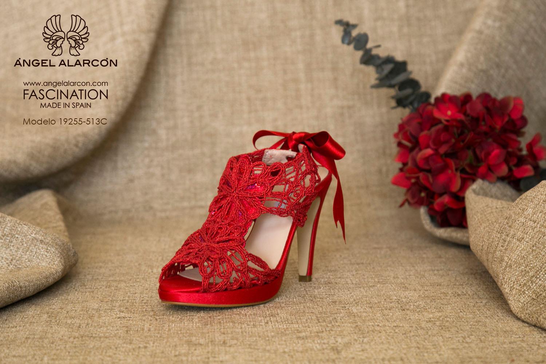 zapatos de novia 2019 de la marca Angel Alarcon ZAPATOS ROJOS A