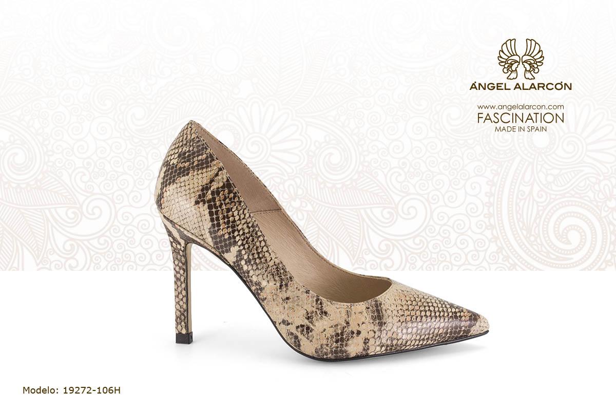 33 stiletto basico - zapatos de vestir y fiesta de la marca Angel Alarcon - calzado de mujer - coleccion primavera verano 2019 - 19272-106H