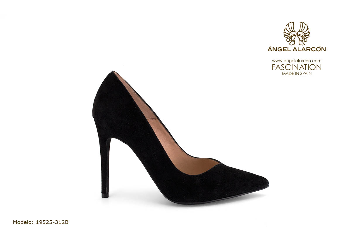 zapatos de mujer invierno 2019 2020 AW2019 - Autumn winter woman shoes - 19525-312B - stiletto estileto tacon punta salon cerrado