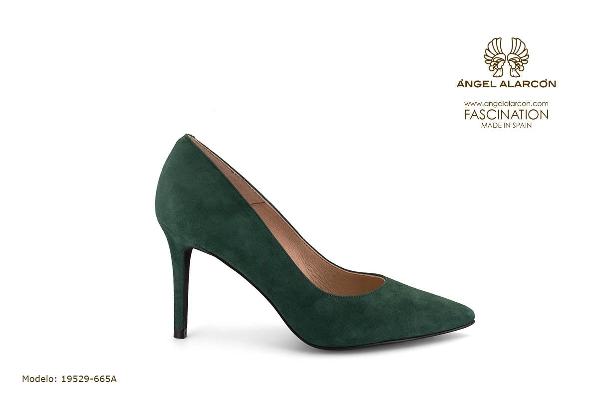 zapatos de mujer invierno 2019 2020 AW2019 - Autumn winter woman shoes - 19529-665A - stiletto estileto tacon punta salon cerrado