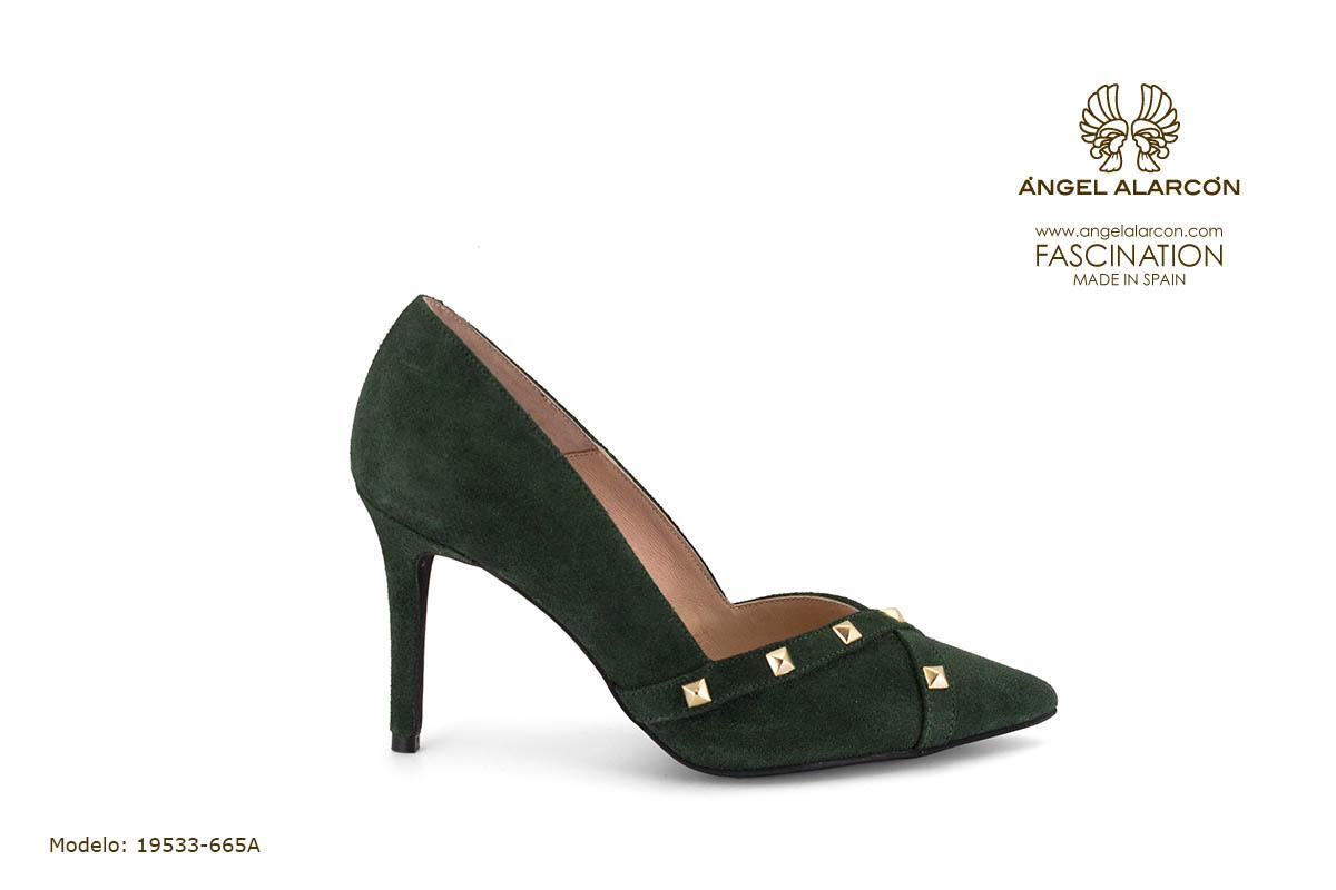 zapatos de mujer invierno 2019 2020 AW2019 - Autumn winter woman shoes - 19533-665A - stiletto estileto tacon punta salon cerrado