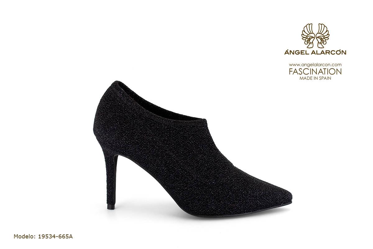 zapatos de mujer invierno 2019 2020 AW2019 - Autumn winter woman shoes - 19534-665A - stiletto estileto botin abotinado tacon punta salon cerrado