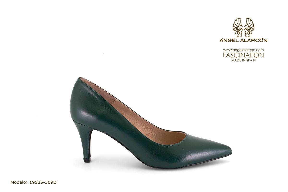 zapatos de mujer invierno 2019 2020 AW2019 - Autumn winter woman shoes - 19535-309D - stiletto estileto comodo tacon punta salon cerrad