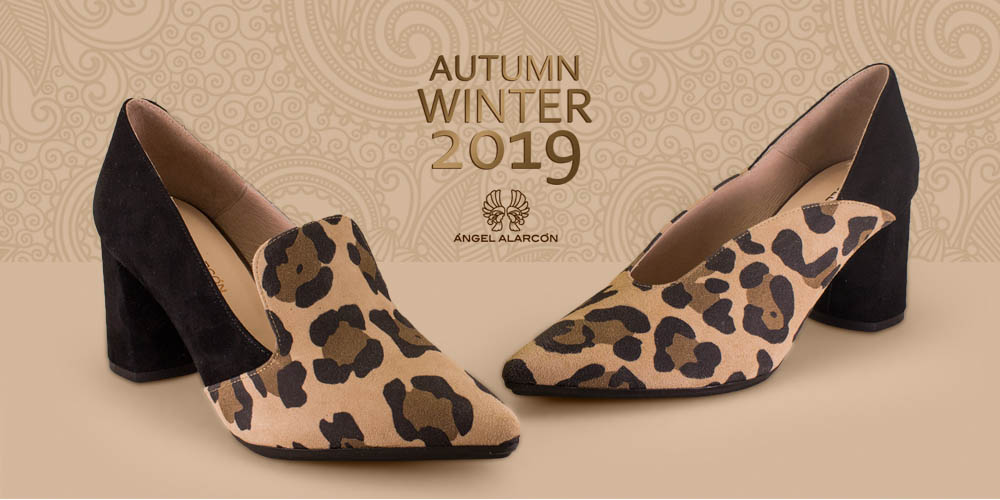 Angel Alarcon autumn winter 2019 2020 comfortable heel woman shoes party evening diary urban shoes