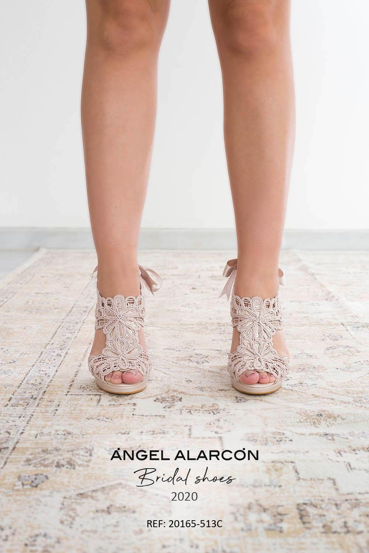 zapatos de novia 2020 20165-513C NUDE A