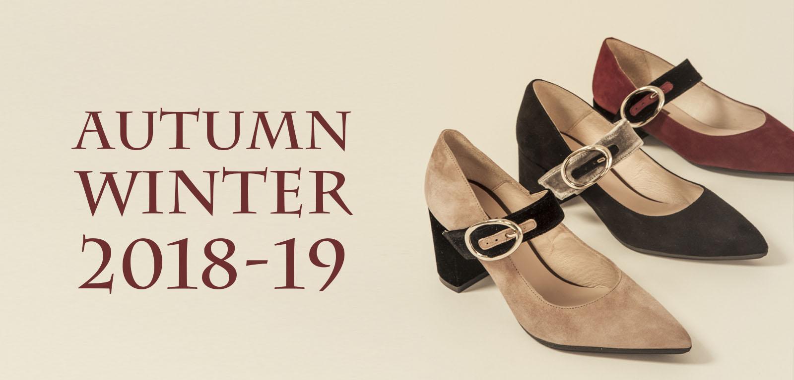 Colección Zapatos Invierno 2019