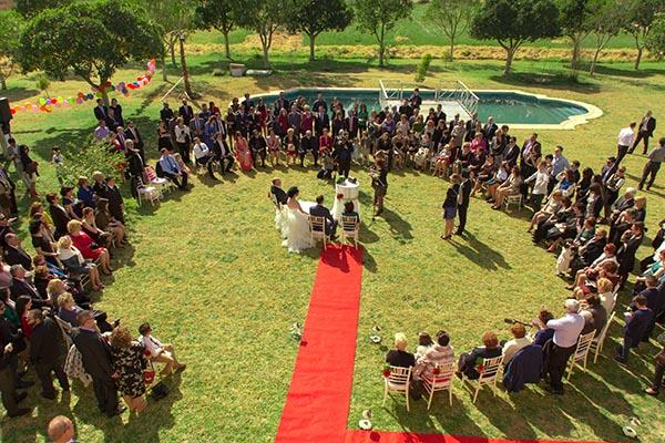 Ceremonia boda círculo