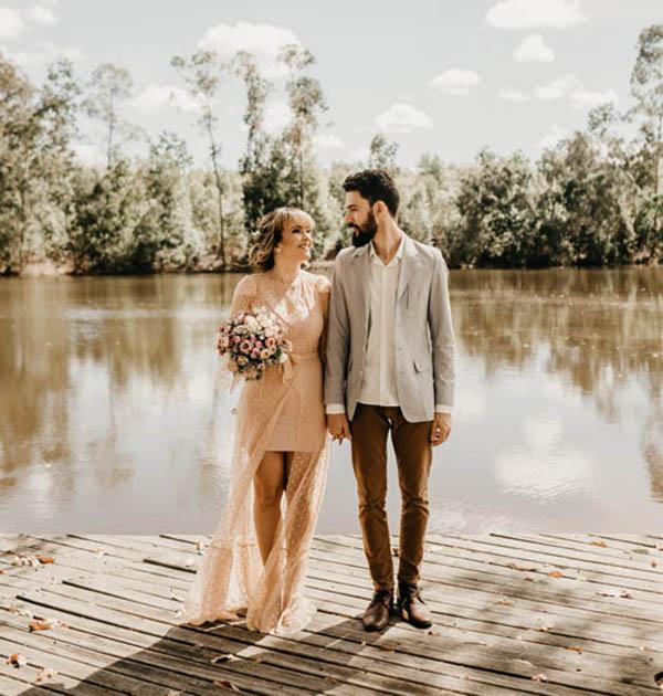 novio y novia diferentes boda