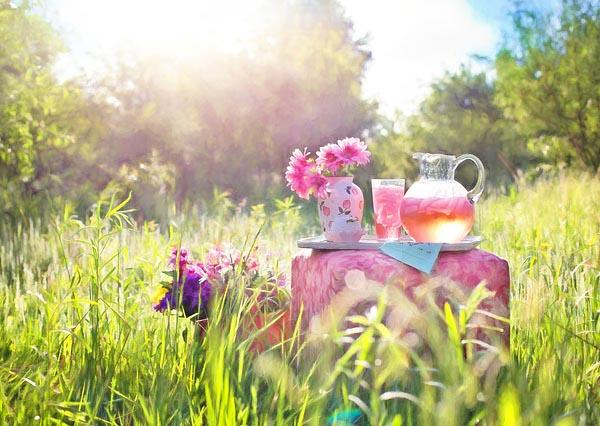 limonada rosa boda