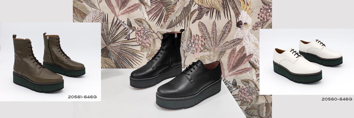 botines y blucher mocasin con plataforma de goma grande 2020 2021