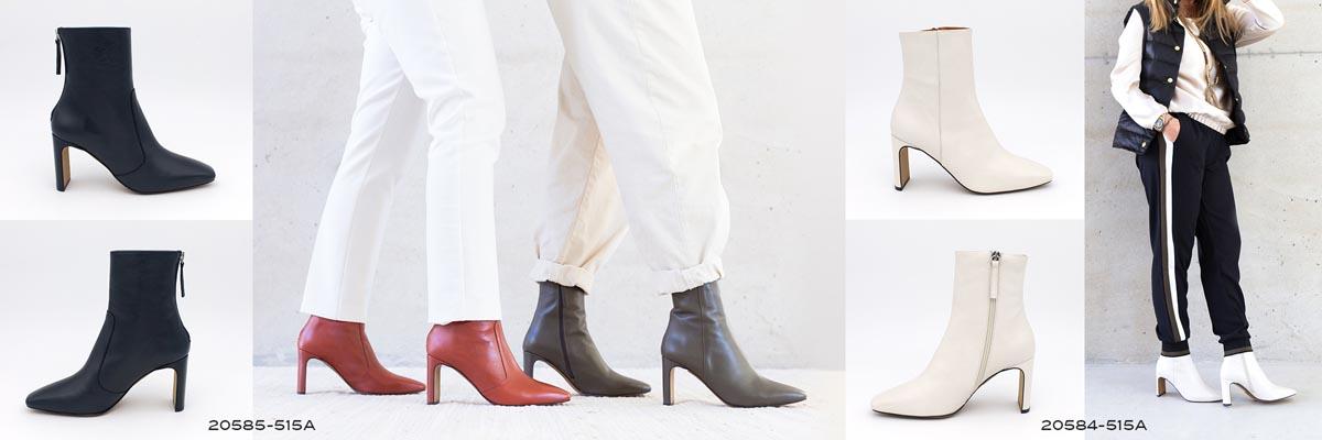 Botines de vestir con tacon alto 2020 2021